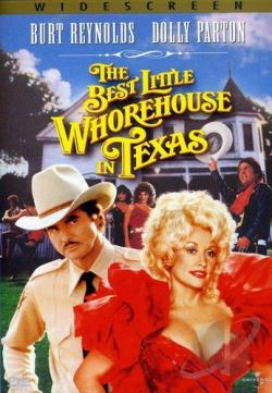 Best Little Whorehouse in Texas DVD Cover Art