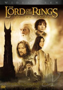 Lord of the Rings: The Two Towers DVD Cover Art