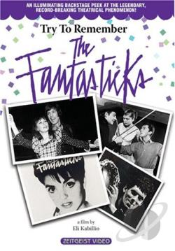 Try to Remember - The Fantasticks DVD Cover Art