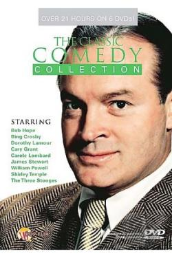 Classic Comedy Collection 6-Pack DVD Cover Art