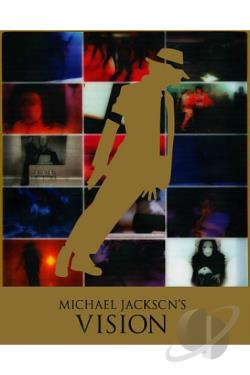 Michael Jackson's Vision DVD Cover Art