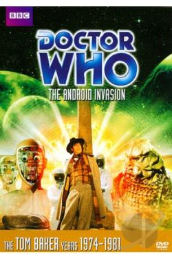 Doctor Who: The Android Invasion DVD Cover Art