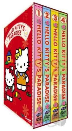 Hello Kitty's Paradise - Complete Collection DVD Cover Art