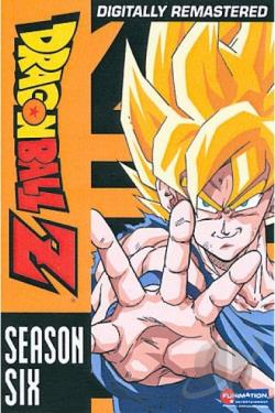 Dragon Ball Z - The Complete Sixth Season DVD Cover Art