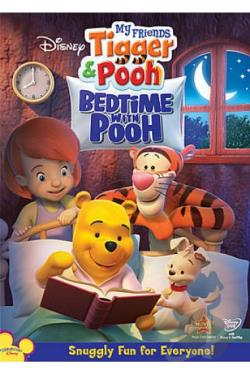 My Friends Tigger & Pooh: Bedtime with Pooh DVD Cover Art