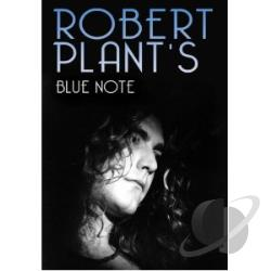 Robert Plant: Robert Plant's Blue Note DVD Cover Art