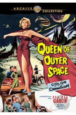 Queen of Outer Space DVD Cover Art