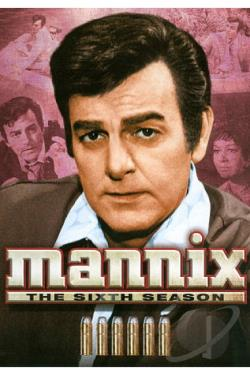 Mannix - The Complete Sixth Season DVD Cover Art