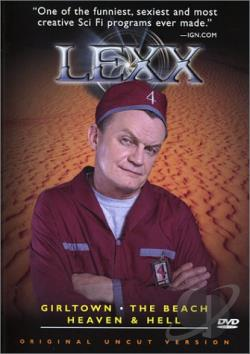 Lexx - Season 3, Volume 4 DVD Cover Art