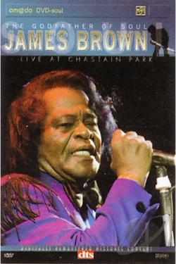 James Brown - Live at Chastain Park DVD Cover Art