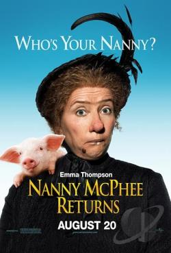 Nanny McPhee Returns DVD Cover Art
