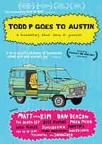 Todd P. Goes to Austin DVD Cover Art
