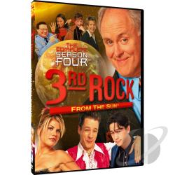 3rd Rock from the Sun - Season 4 DVD Cover Art