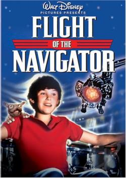 Flight of the Navigator DVD Cover Art