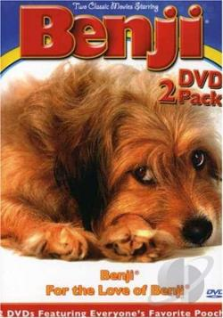 Benji 2-Pack DVD Cover Art