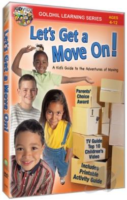 Kidvidz - Let's Get a Move On! DVD Cover Art