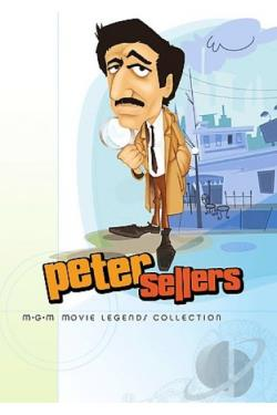 Peter Sellers Collection DVD Cover Art