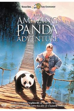 Happy Feet/The Amazing Panda Adventure DVD Cover Art