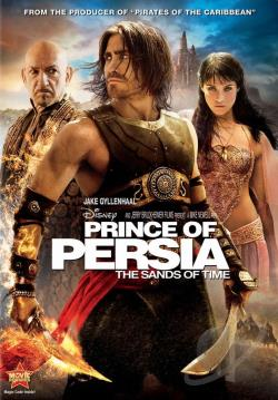 Prince of Persia: The Sands of Time DVD Cover Art