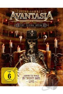 Avantasia: The Flying Opera - Around the World in 20 Days Live BRAY Cover Art