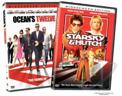 Ocean's Twelve/Starsky and Hutch DVD Cover Art
