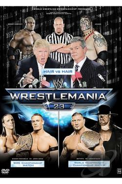 WWE - Wrestlemania 23 DVD Cover Art