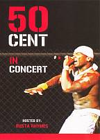 50 Cent - 50 Cent Live Concert DVD Cover Art