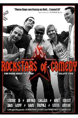 Rockstars Of Comedy DVD Cover Art