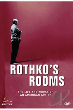 Rothko's Rooms DVD Cover Art