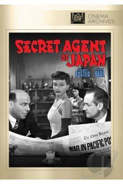 Secret Agent of Japan DVD Cover Art