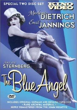 Blue Angel DVD Cover Art