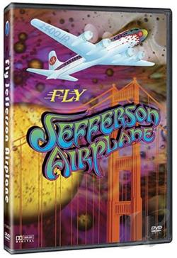 Jefferson Airplane - Fly Jefferson Airplane DVD Cover Art