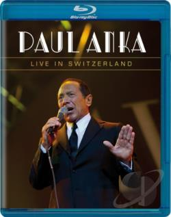 Paul Anka: Live in Switzerland BRAY Cover Art