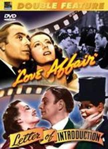 Love Affair/Letter Of Introduction DVD Cover Art
