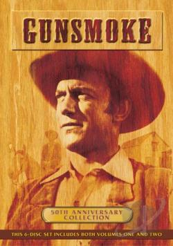 Gunsmoke - 50th Anniversary Set DVD Cover Art
