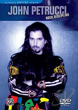 John Petrucci - Rock Discipline DVD Cover Art