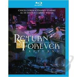 Return To Forever Returns - Live At Montreux 2008 BRAY Cover Art