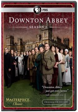 Masterpiece Classic: Downton Abbey - The Complete Second Season DVD Cover Art