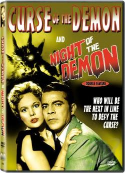 Curse of the Demon DVD Cover Art