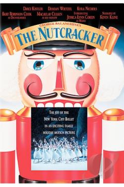 Nutcracker - George Balanchine DVD Cover Art