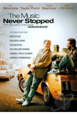 Music Never Stopped DVD Cover Art