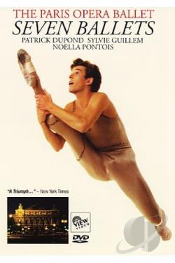 Paris Opera Ballet - Seven Ballets DVD Cover Art
