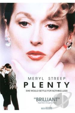 Plenty DVD Cover Art