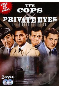TV's Cops & Private Eyes DVD Cover Art