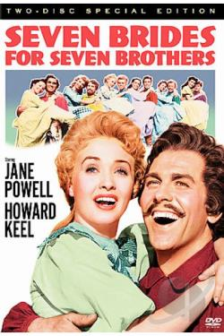 Seven Brides for Seven Brothers DVD Cover Art
