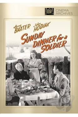Sunday Dinner for a Soldier DVD Cover Art
