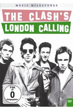 Clash: Music Milestones - The Clash's London Calling DVD Cover Art