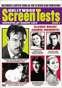 Hollywood Screen Tests: Take 1 DVD Cover Art
