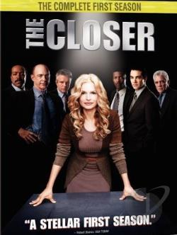 Closer - The Complete First Season DVD Cover Art
