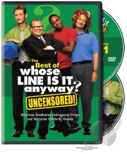 Best of Whose Line Is It Anyway DVD Cover Art